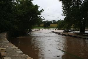 Mantual Mill Flooding